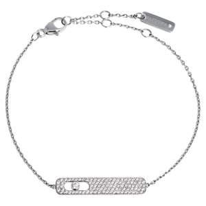 Messika My First Diamond Pave 18K White Gold Bracelet