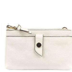 حقيبة كروس مايكل كورس جلد أبيض