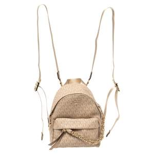 Michael Kors Signature Canvas Slater Convertible Backpack