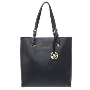 حقيبة يد مايكل مايكل كورس جت ست جلد سوداء