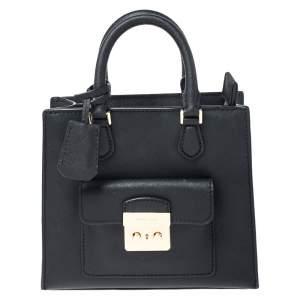 حقيبة يد مايكل مايكل كورس Bridgette جلد سوداء