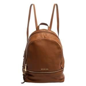 حقيبة ظهر مايكل كورس ريزيب متوسطة جلد بنية