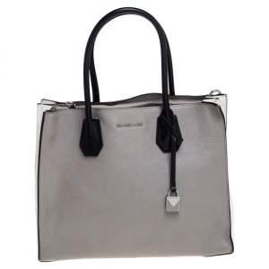 حقيبة يد مايكل مايكل كورس ميرسير كبيرة جلد ثلاثي اللون