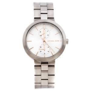 Michael Kors Silver Stainless Steel Garner MK6407 Women's Wristwatch 38 mm