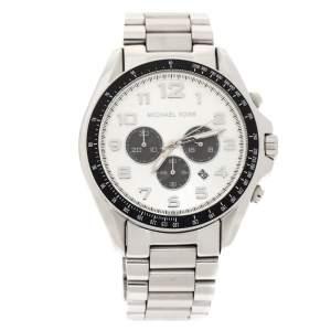 Michael Kors Silver Stainless Steel Bradshaw MK8254 Men's Wristwatch 48 MM