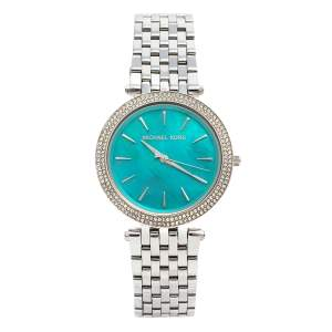Michael Kors Blue Mother of Pearl Stainless Steel Darci MK3515 Women's Wristwatch 39 mm