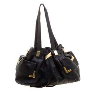 حقيبة يد مايكل كورس جلد سوداء