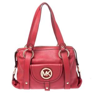 حقيبة Fulton مايكل مايكل كورس حمراء