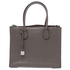 Michael Michael Kors Taupe Leather Large Mercer Tote