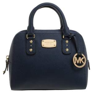 Michael Michael Kors Blue Leather Mini 2way Bag