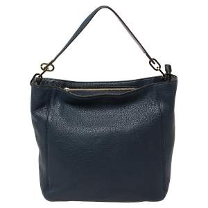 MICHAEL Michael Kors Blue Leather Fulton Hobo
