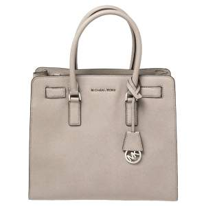 MICHAEL Michael Kors Grey Leather Large Dillon Tote