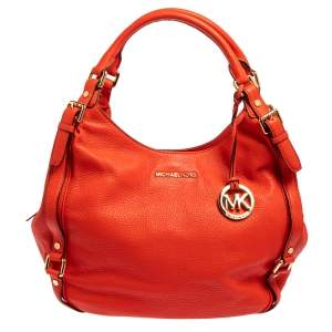MICHAEL Michael Kors Red Leather Bedford Hobo