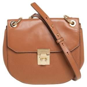 MICHAEL Michael Kors Tan Leather Cecelia Shoulder Bag