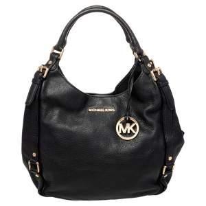 حقيبة هوبو مايكل مايكل كورس بدفورد جلد أسود