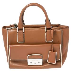 MICHAEL Michael Kors Brown Leather Audrey  Tote