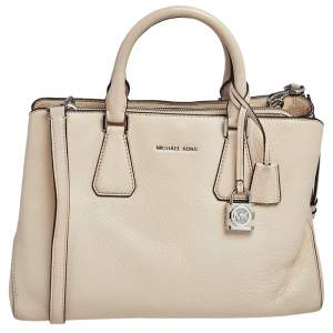 MICHAEL Michael Kors Beige Leather Camile Tote