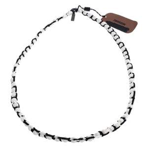 Missoni Monochrome Roped Ball Long Necklace
