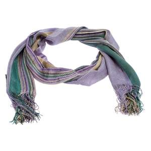Missoni Multicolor Striped Knit Scarf