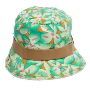 Missoni Green Floral Print Cotton Canvas Bucket Hat M