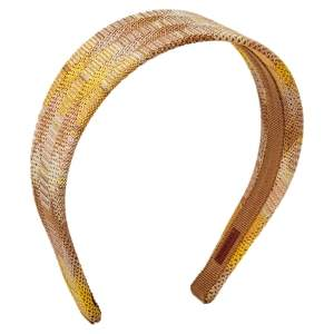 Missoni Beige Crochet Knit Headband ( One Size )