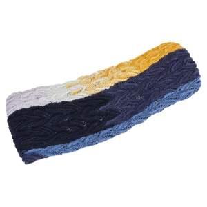 Missoni Multicolor Crochet Knit Headband