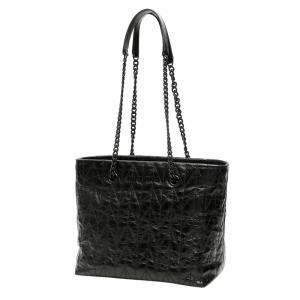 Miu Miu Black Quilted Shine Calfskin Leather Tote Bag