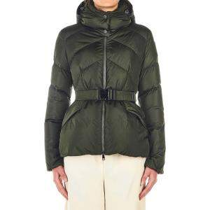 "Moncler Dark Green Down Jacket ""Aloes"" Size FR 2"