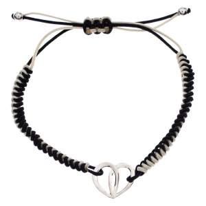 Montblanc Black/White Cord Petale Bracelet