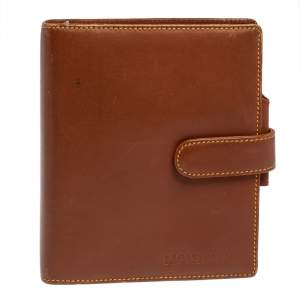 Montblanc Brown Leather Meisterstuck Agenda Organizer