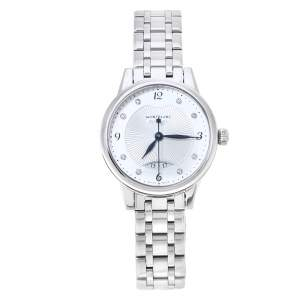 Montblanc Silver Stainless Steel Boheme 7434 Women's Wristwatch 30 mm