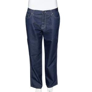 Moschino Jeans Denim Straight Leg Jeans L