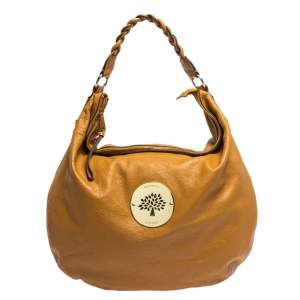 Mulberry Tan Leather Daria Hobo