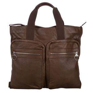 Mulberry Brown Leather Tote Bag