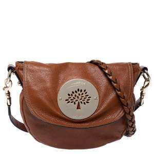 Mulberry Tan Leather Daria Crossbody Bag