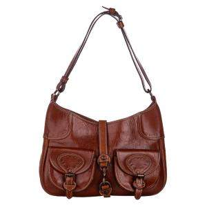 Mulberry Brown Leather Hobo Bag