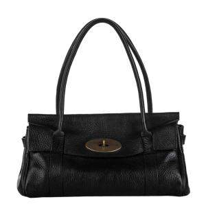 Mulberry Black Leather Bayswater Bag