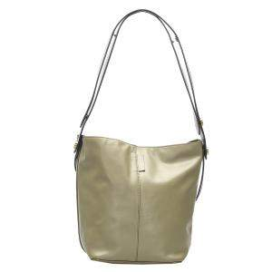 Mulberry Green Leather Kite Tote Bag
