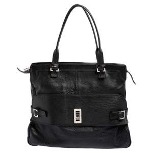 Mulberry Black Leather Maggie Tote