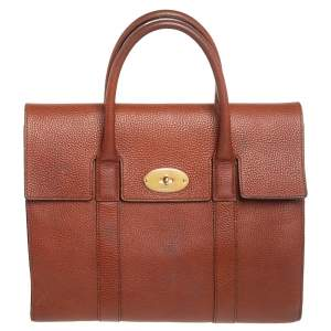 Mulberry Brown Leather Bayswater Tote