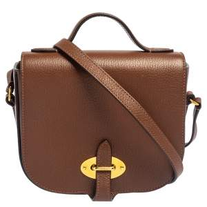 Mulberry Brown Leather Tenby Crossbody Bag