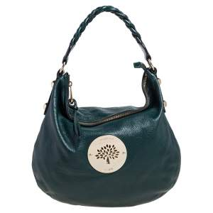 Mulberry Green Leather Daria Hobo