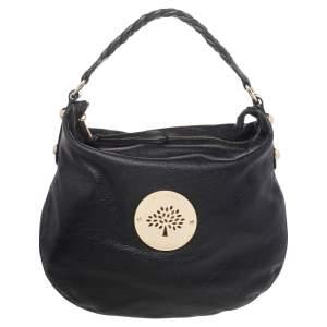 Mulberry Black Leather Medium Soft Spongy Daria Hobo