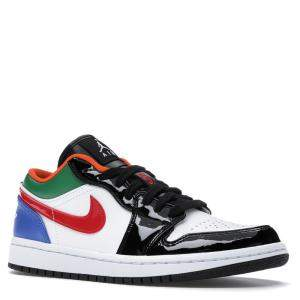 Nike Jordan 1 Low Multi Black Toe Size 36