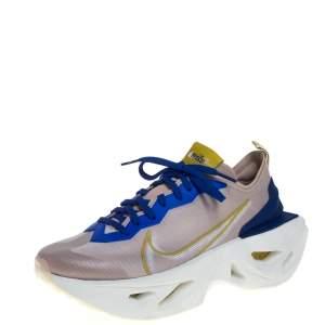 Nike Beige/Blue Mesh Zoom X Vista Grind Sneakers Size 38