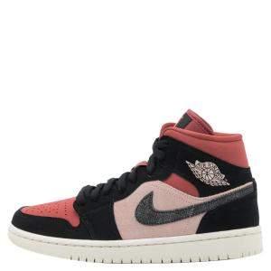 حذاء رياضي نايك جوردان 1 ميد كانيون راست مقاس أمريكي 9.5 عريض - مقاس أوروبي 41