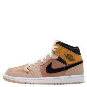 حذاء رياضي نايك جوردان 1 ميد بارتيكل بيج مقاس أمريكي 6.5 عريض - مقاس أوروبي 37.5