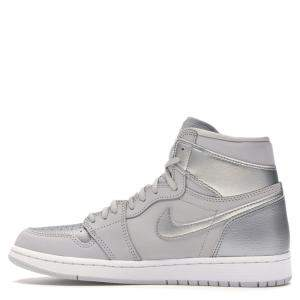 Nike Jordan 1 Retro High CO Japan Neutral Grey Sneakers Size EU 40 (US 7Y)