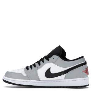 Nike Jordan 1 Low Light Smoke Grey Sneakers Size EU 38 (US 5.5Y)