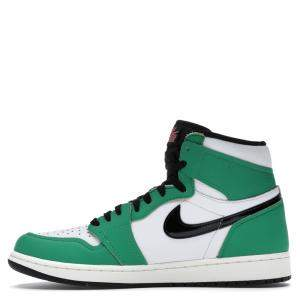 Nike  Jordan 1 Retro High Lucky Green Sneakers Size EU 39 (US 8W)